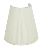 9906  Silk String Sconce Shade With Hand Sewn Soft Lining 9906